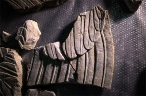 Parts from Amphipolis Sphinx 1